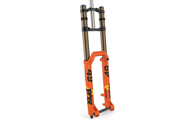 FOX 49 FLOAT FACTORY KASHIMA GRIP 2 BOOST 2020 ORANGE