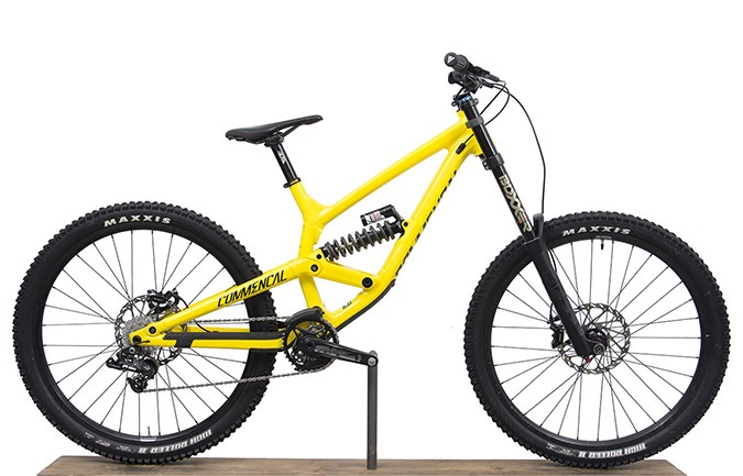FURIOUS ORIGIN 650B YELLOW 2017 (S)