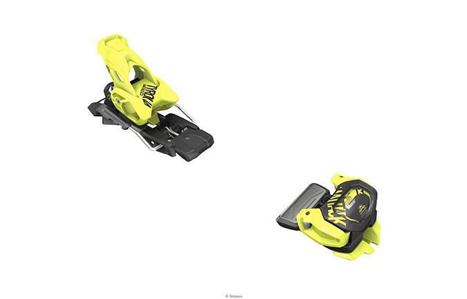 FIJACION TYROLIA ATTACK² 11 GW YELLOW + BRAKES TYROLIA FOR ATTACK²