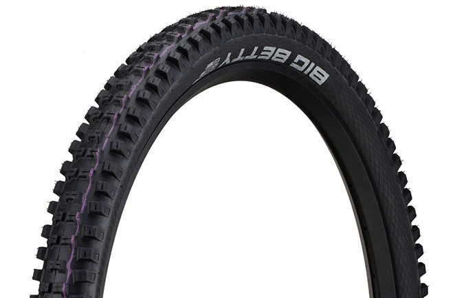 SCHWALBE BIG BETTY 29 X 2.4 SUPER DOWNHILL ADDIX ULTRA SOFT