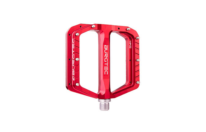 PEDALES BURGTEC PENTHOUSE FLAT MK5 RACE RED