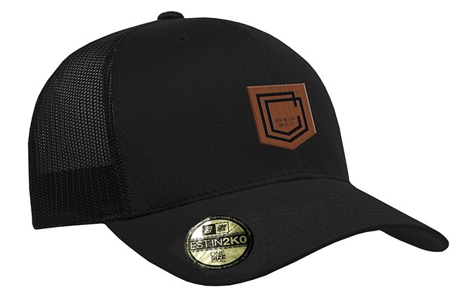 GORRA COMMENCAL TRUCKER VISERA CURVA SHIELD CUERO BLACK 2019