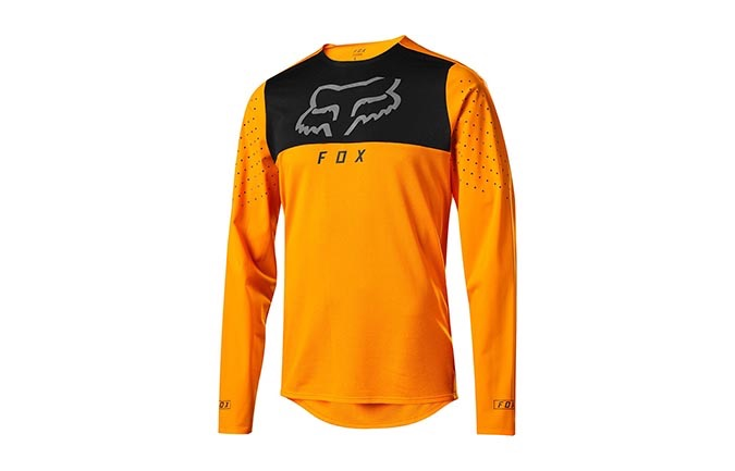 MAILLOT MANGAS LARGAS FOX FLEXAIR DELTA OPEN ORANGE 2019