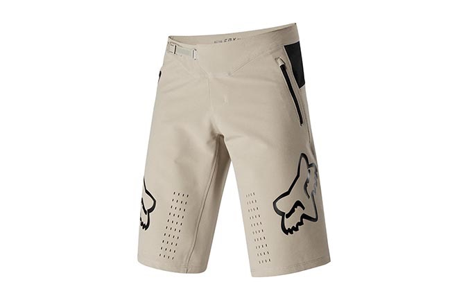 SHORT FOX DEFEND LIGHT BEIGE 2019