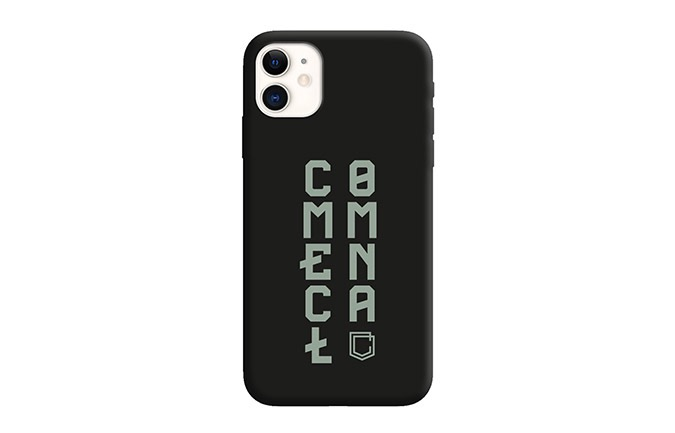 CARCASA COMMENCAL IPHONE 11 RECICLADA BLACK