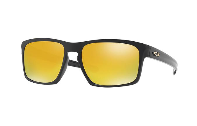 GAFAS DE SOL OAKLEY SLIVER POLISHED BLACK/24K IRIDIUM