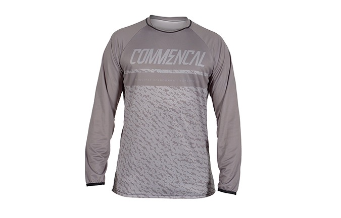 MAILLOT MANGAS LARGAS COMMENCAL GREY 2019