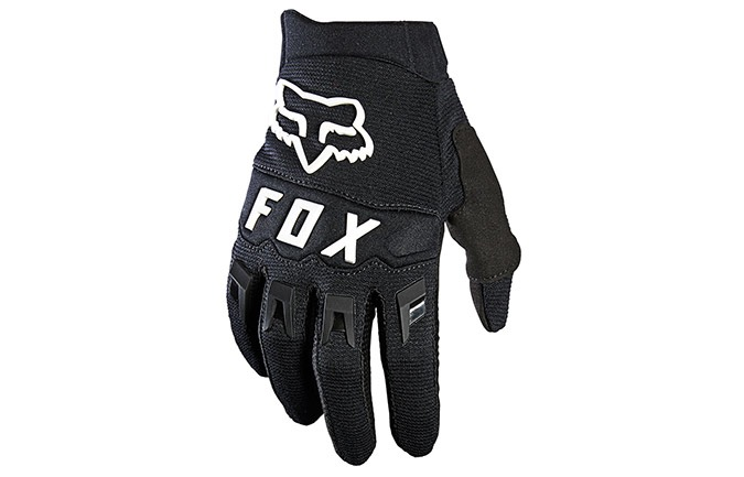 GUANTES FOX KID DIRTPAW BLACK/WHITE