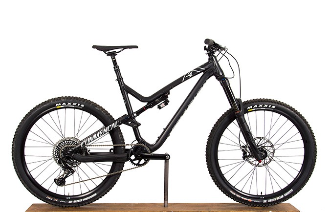 META AM V4.2 RACE EAGLE 650B BLACK 2017 (L)