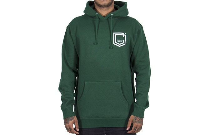 SUDADERA COMMENCAL SHIELD DARK GREEN
