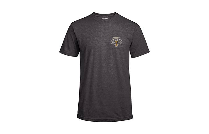 DAKINE OVERBITE TECH T MANGAS CORTAS HEATHER BLACK 2018