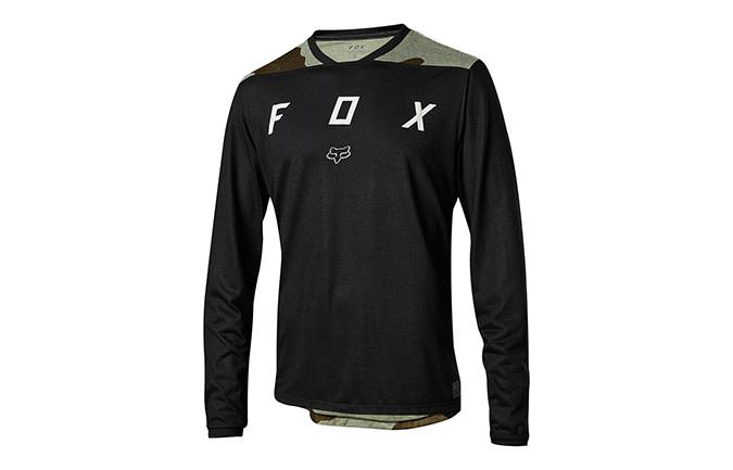 MAILLOT MANGAS LARGAS FOX INDICATOR MASH CAMO BLACK 2018