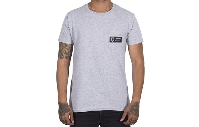 CAMISETA MANGAS CORTAS COMMENCAL BOX HEATHER GREY