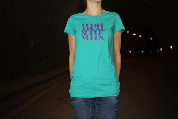 CAMISETA GIRLY GREEN