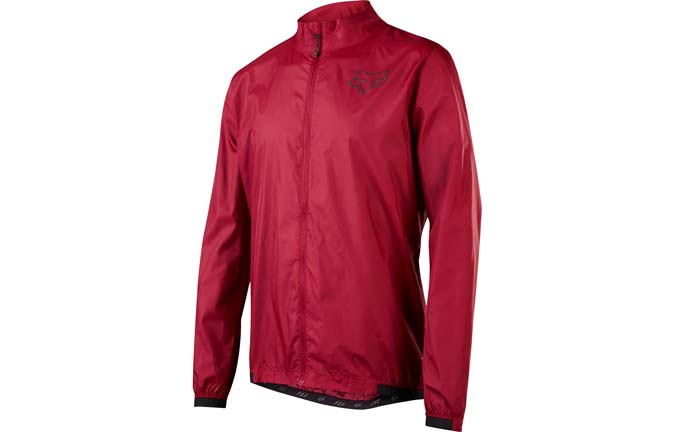 FOX ATTACK WIND JACKET DARK RED