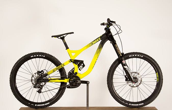 SUPREME DH V3 ROCKSHOX YELLOW 2016 (L)