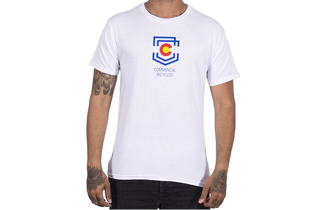 CAMISETA MANGAS CORTAS COMMENCAL SHIELD COLORADO