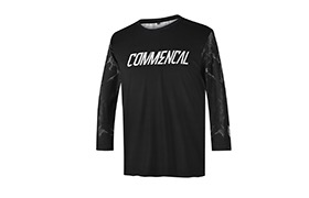 MAILLOT KID COMMENCAL CUSTOM BLACK