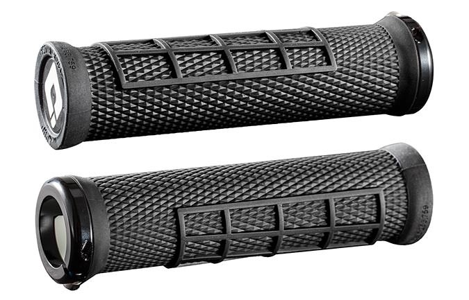 GRIPS ODI ELITE FLOW LOCK ON BLACK