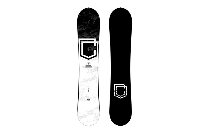 TABLA COMMENCAL CLASH BLACK & WHITE 2021