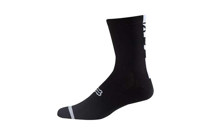 CALCETINES FOX LOGO TRAIL BLACK