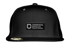 GORRA COMMENCAL VISERA PLANA SHIELD BLACK