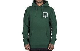 SUDADERA COMMENCAL SHIELD DARK GREEN 2019