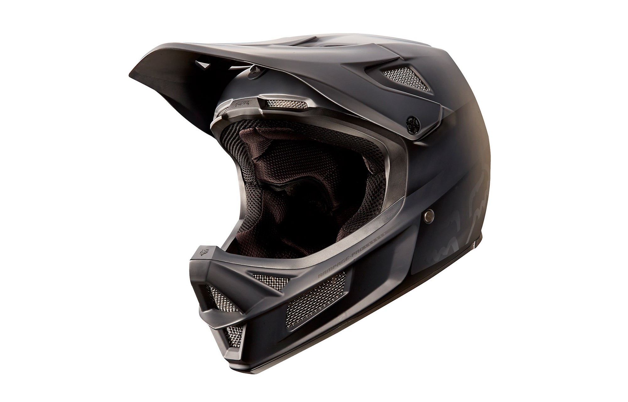 CASCO FOX HEAD RAMPAGE PRO CARBON NEGRO
