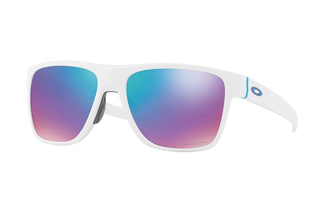 GAFAS DE SOL OAKLEY CROSSRANGE XL POLISHED WHITE/PRIZM SAPPHIRE SNOW