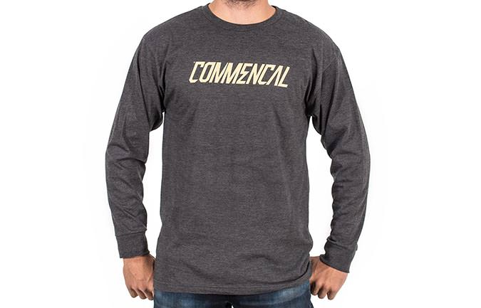 CAMISETA LONG SLEEVE CORPORATE CHARCOAL