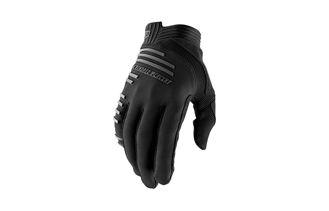GUANTES 100% R-CORE BLACK