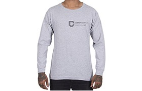 CAMISETA MANGAS LARGAS COMMENCAL SHIELD HEATHER GREY