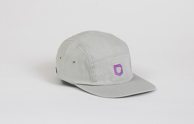 GORRA COMMENCAL 5 PANEL RIPSTOP GREY