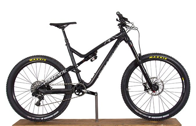 META AM V4.2 RACE 650B BLACK 2017 (L)