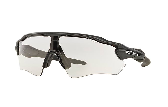 GAFAS DE SOL OAKLEY RADAR EV PATH STEEL/CLEAR TO BLACK