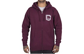 SUDADERA COMMENCAL SHIELD MAROON 2019