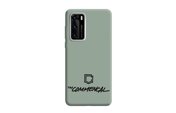 CARCASA COMMENCAL HUAWEI P40 HERITAGE GREEN