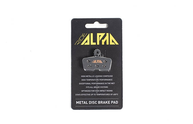 PASTILLAS RIDE ALPHA METALICAS AVID CODE / GUIDE RE