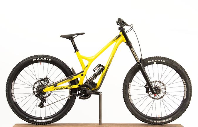 SUPREME DH V4.2 RACE 650B YELLOW 2017 (S)