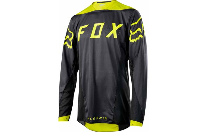 MAILLOT FOX FLEXAIR LS MOTH YELLOW