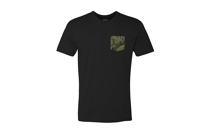 CAMISETA BASIC BLACK / CAMO 2018