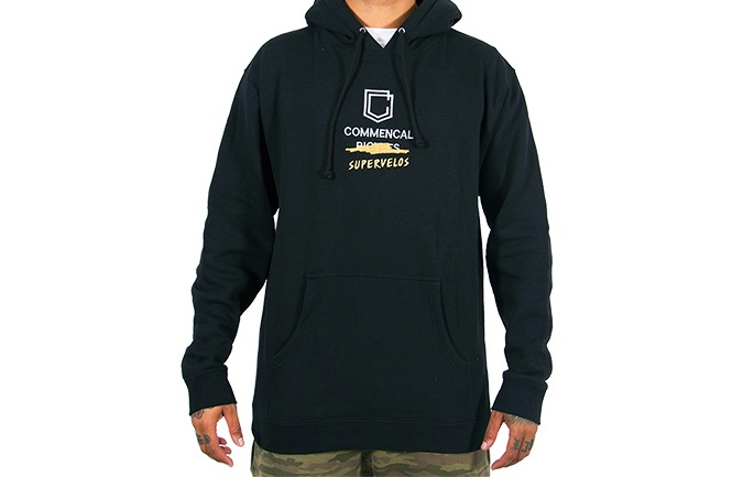 SUDADERA COMMENCAL SHIELD BLACK 2019
