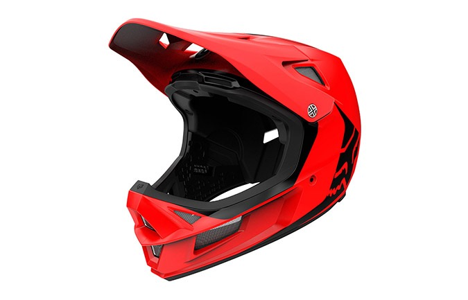 CASCO FOX RAMPAGE COMP INFINITE BRIGHT RED 2020