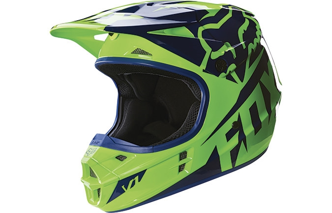 CASCO FOX HEAD JUNIOR V1 RACE 2016