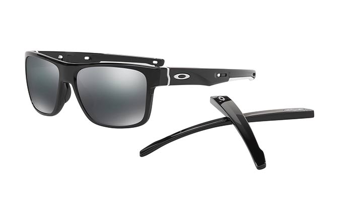 GAFAS DE SOL OAKLEY CROSSRANGE POLISHED BLACK/BLACK IRIDIUM