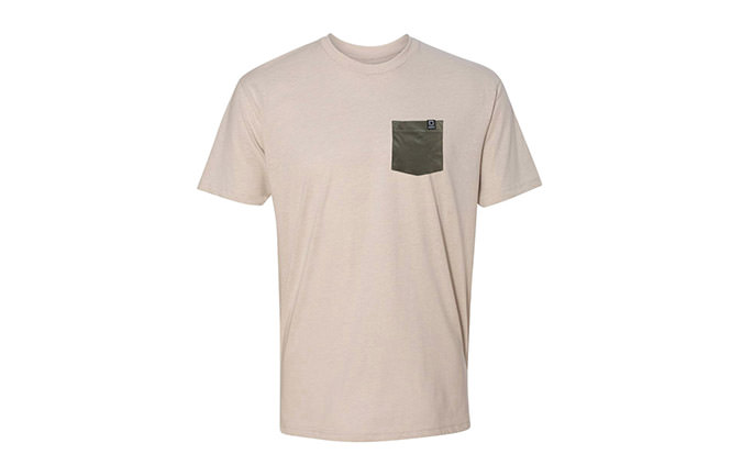 CAMISETA BASIC SAND / GREEN 2018