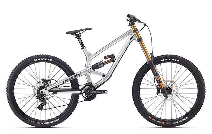 FURIOUS RACE 650B BRUSHED 2018