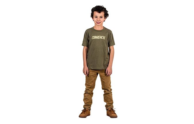 CAMISETA CORPORATE MILITARY GREEN KIDS 2018