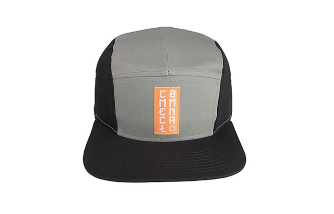 GORRA COMMENCAL FIVE PANELS GRIS