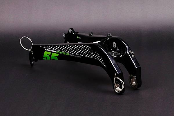 REAR TRIANGLE META 5 CARBON FFS BLACK, WITH HANGERS, 2010
